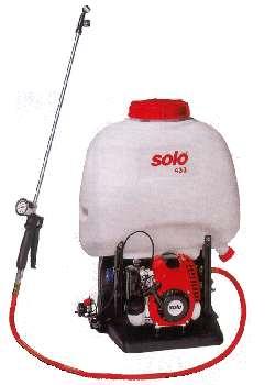 Pulverisateur thermique solo