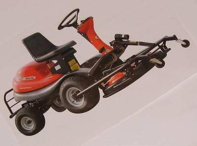 Autoport e efco coupe frontale twister 106 16h tondeuses - Tondeuse autoportee coupe frontale occasion ...
