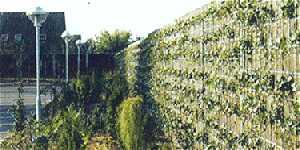 Mur anti bruit et vegetalisable - Mur anti bruit jardin ...